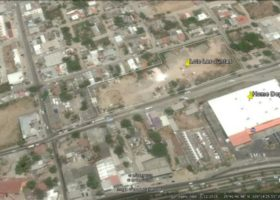 Lote Las Juntas Incredible lot with 243.85M of frontage on Carr. A Las Palmas, located less than 500 meters from the main intersection of Las Juntas and runs all the way to Home Depot. Fantastic opportunity to invest in a high-demand commercial location. Large enough to be sub-divided or could be made into a commercial complex for multiple uses.